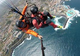 Tandem Paragliding over the Parque Nacional del Teide