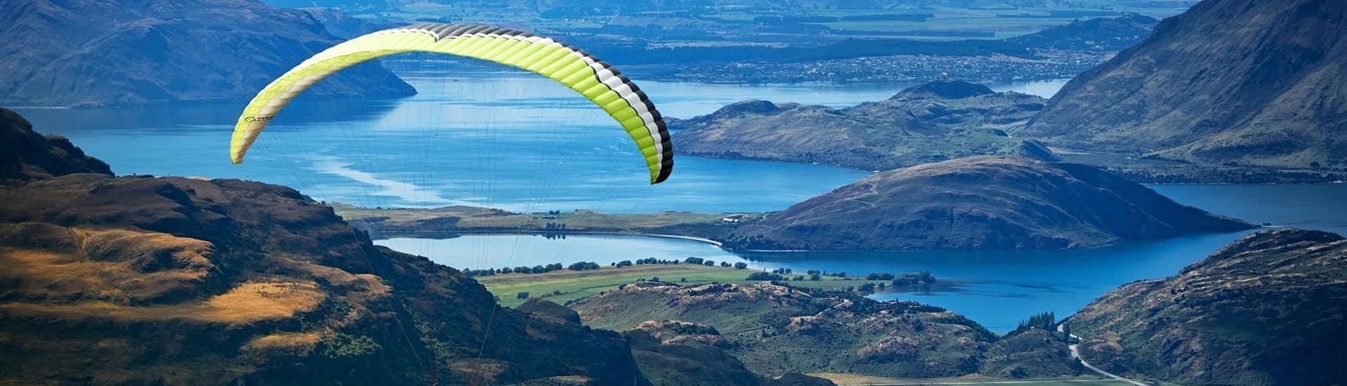 Wanaka Paragliding from Treble Cone