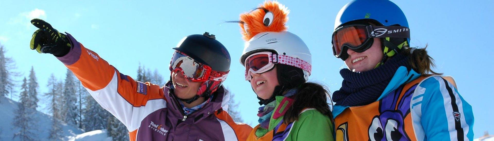 Curso de esquí para niños a partir de 4 años para avanzados