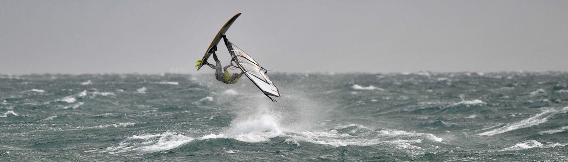 Advanced Windsurfing Lessons (from 8 y.) at Školjić Beach