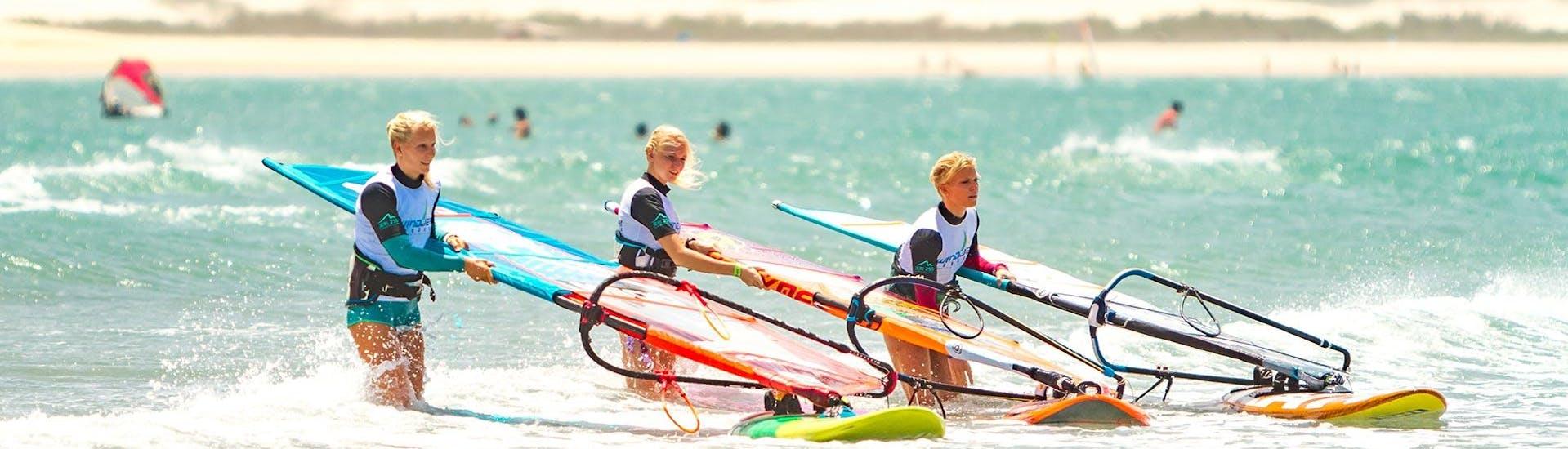 Windsurfing Lessons at Lister Ellenbogen for Beginners