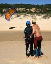 Kitesurfen & Windsurfen Costa da Caparica