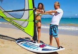 Cours de windsurf à Porto Pollo (dès 10 ans) pour Tous niveaux