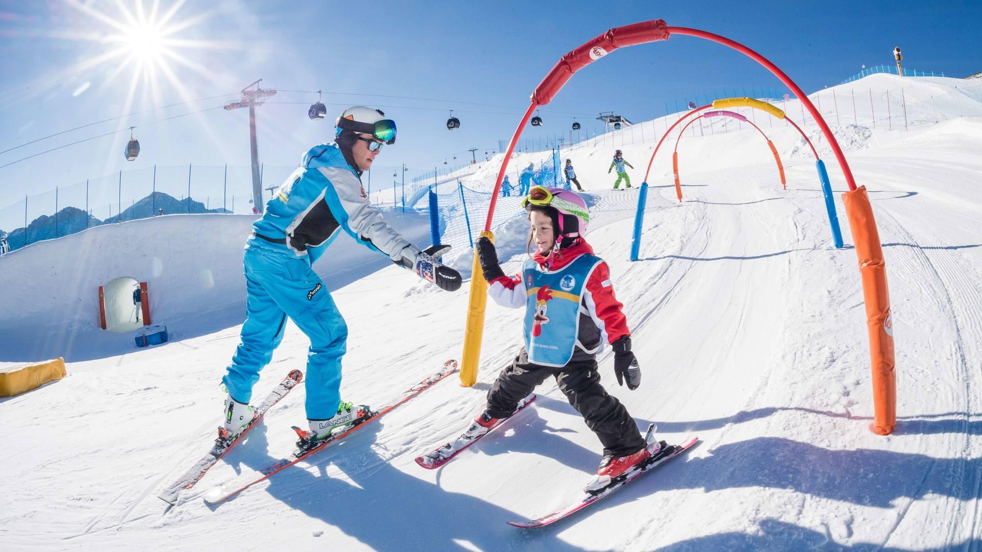 Cours de ski Enfants dès 4 ans pour Débutants