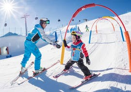Kids Ski Lessons (4-9 y.) for Beginners