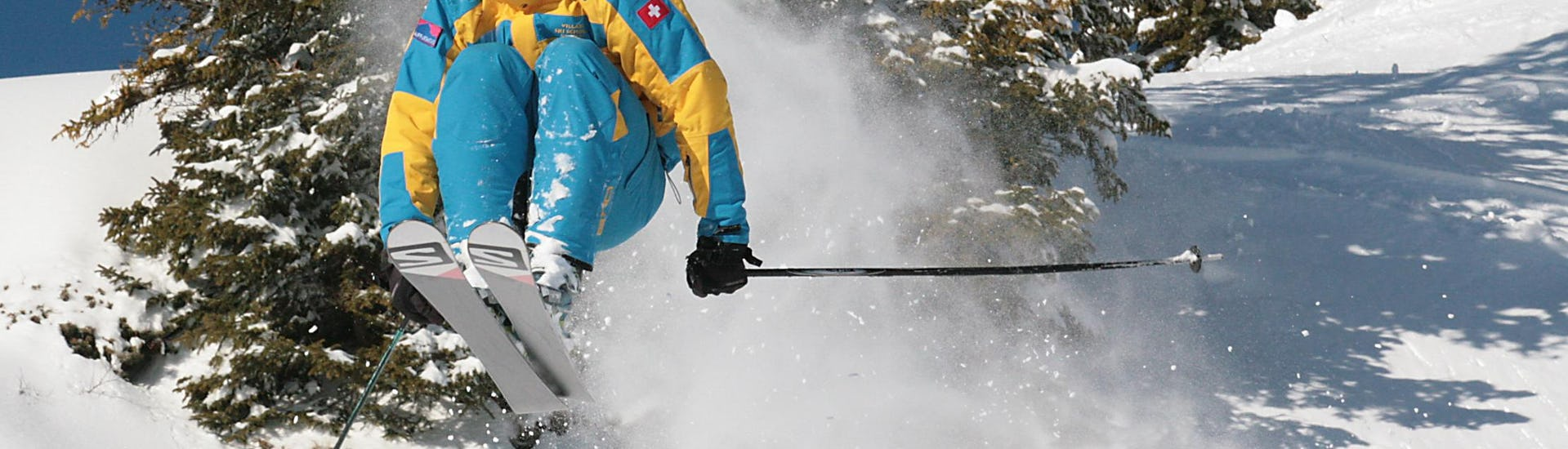 "Kids Ski Lessons ""Yellow Club"" (9-16 years) - Advanced"