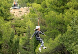 Zipline in the Makarska Riviera for Groups (from 8 people)