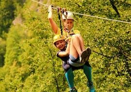 Zipline through Canyon Učja - The Biggest in Europe