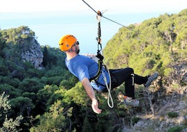 Zipline Tour with Sea View in the Makarska Riviera