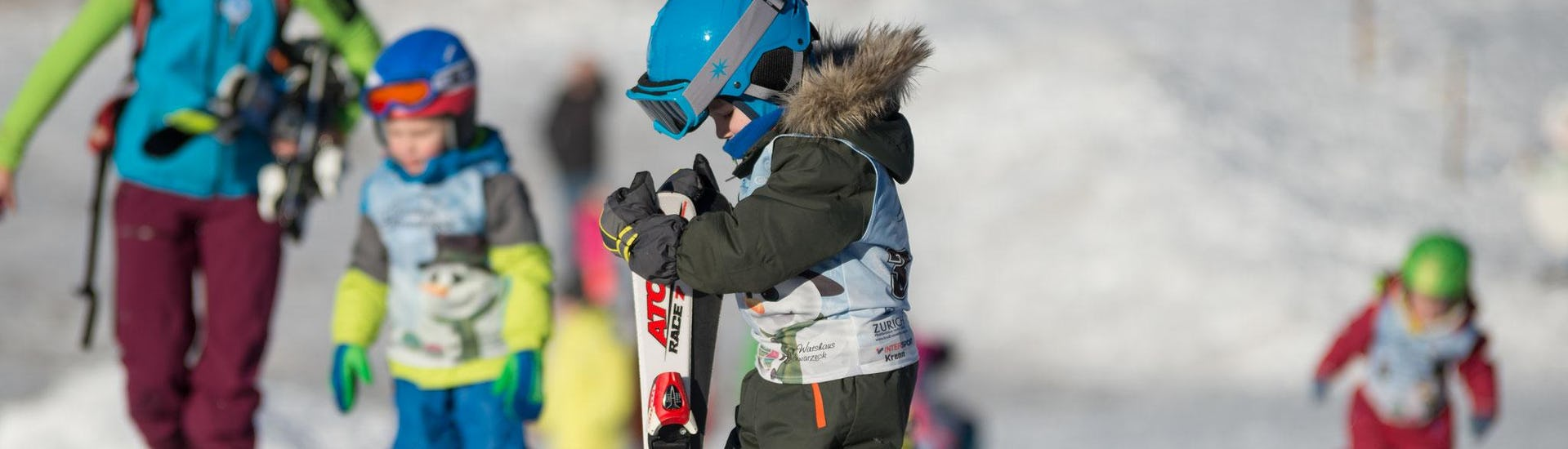 """Skikurs """"Zwergerl"""" für Kinder (3,5-6 Jahre) - Nachmittag"""