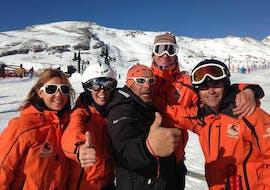 Cours particulier de ski Adultes pour Tous niveaux avec Escuela de Esquí Slalom Alto Campoo
