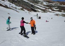 Cours particulier de snowboard pour Tous niveaux avec Escuela de Esquí Slalom Alto Campoo