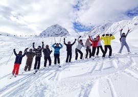 Adult Ski Lessons for All Levels  with ESF La Plagne