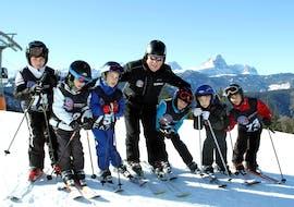 Cours de ski Enfants dès 6 ans pour Tous niveaux avec Ski School Top Ski Piculin San Vigilio