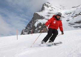 Privé skilessen voor volwassenen voor alle niveaus met Schweizer Ski- und Snowboardschule Wengen