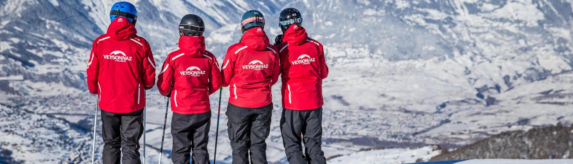 Premier Cours de ski Adultes avec École Suisse de Ski de Veysonnaz - Hero image