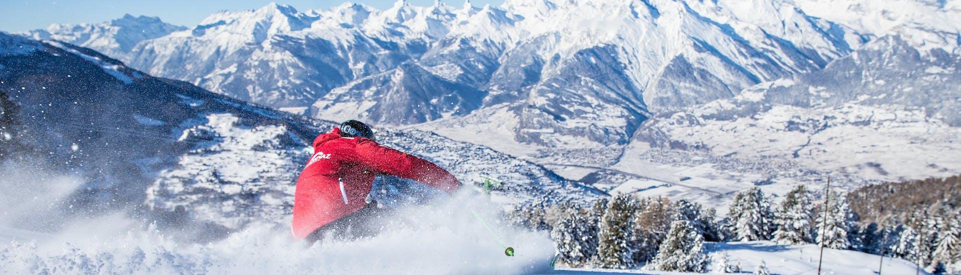 Cours particulier de ski Adultes pour Tous niveaux avec École Suisse de Ski de Veysonnaz - Hero image