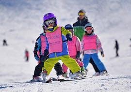 Skilessen voor kinderen vanaf 3 jaar - beginners met Escuela Internacional de Esquí Sierra Nevada