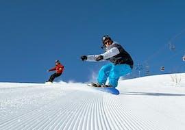 Snowboardlessen - beginners met Escuela Internacional de Esquí Sierra Nevada
