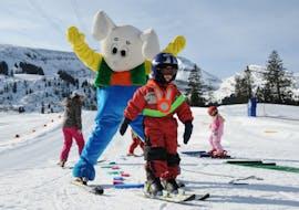 Kids Ski Lessons (3-16 y.) for Beginners - Half Day with Swiss Ski School Samnaun