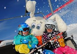 Kids Ski Lessons (3-16 y.) for Beginners - Full Day with Swiss Ski School Samnaun