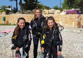 Discover Scuba Duiken in Vrsar voor beginners met Starfish Diving Center Vrsar