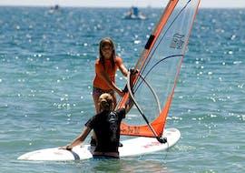 Windsurfing Trial Lessons (from 8 y.) at Školjić Beach with Windsurf Station Premantura
