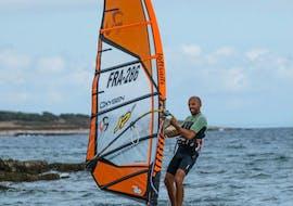 Windsurfing Lessons (8+ y.) at Školjić Beach for Beginners with Windsurf Station Premantura