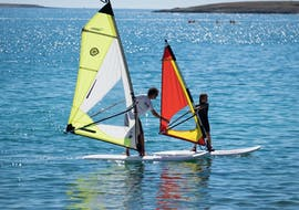 Private Windsurfing Lessons (from 8 y.) at Školjić Beach with Windsurf Station Premantura