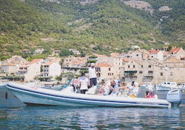 View from our 5 Islands Boat Trip including Blue Cave and Hvar with Toto Travel.