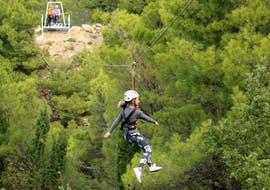 Zipline in the Makarska Riviera for Groups (from 8 people) with Tip-Extreme Travel Agency Tučepi