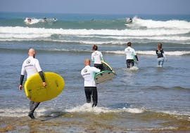 Surfing Lessons for Beginners with Ericeira Surf School