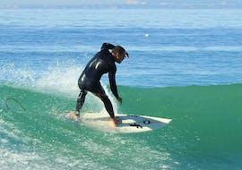 Surf Guide in Albufeira at Praia de Monte Clérigo with Albufeira Surf & SUP