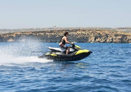Jetskiën in Mellieha - Comino met Palm Beach Water Sports Malta