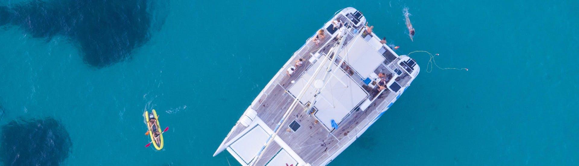 Sailing Catamaran Cruise in the Bay of Palma with Snorkeling with Oasis Catamarán Mallorca - Hero image