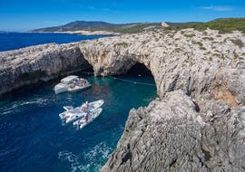 Boat Trip from Hvar to Blue Cave and Green Cave with Hvar Boats