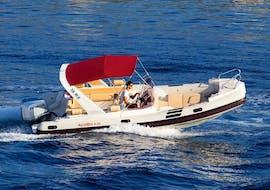 Balade privée en bateau - Côte sud de Hvar & îles Pakleni avec Hvar Boats