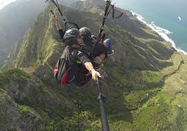 Tandem Paragliding over the Parque de Anaga with En mi Nube Tenerife