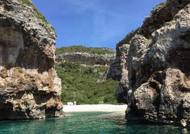 View from our Private Speed Boat Trip to Blue Cave, Hvar and 5 Islands with Toto Travel.