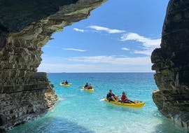 Sea Kayaking to the Kamenjak Sea Cave with Snorkeling with Windsurf Station Premantura