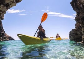 Sit-On Sea Kayak Rental at Cape Kamenjak with Windsurf Station Premantura