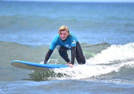 Surfing Lessons for Kids & Adults - Beginners with Pro Surfing Company Gran Canaria