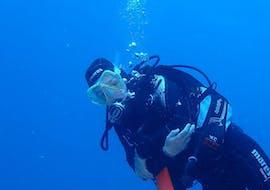 Trial Scuba Diving - Discover Scuba - Flamingo Wall with Non Stop Divers Lanzarote