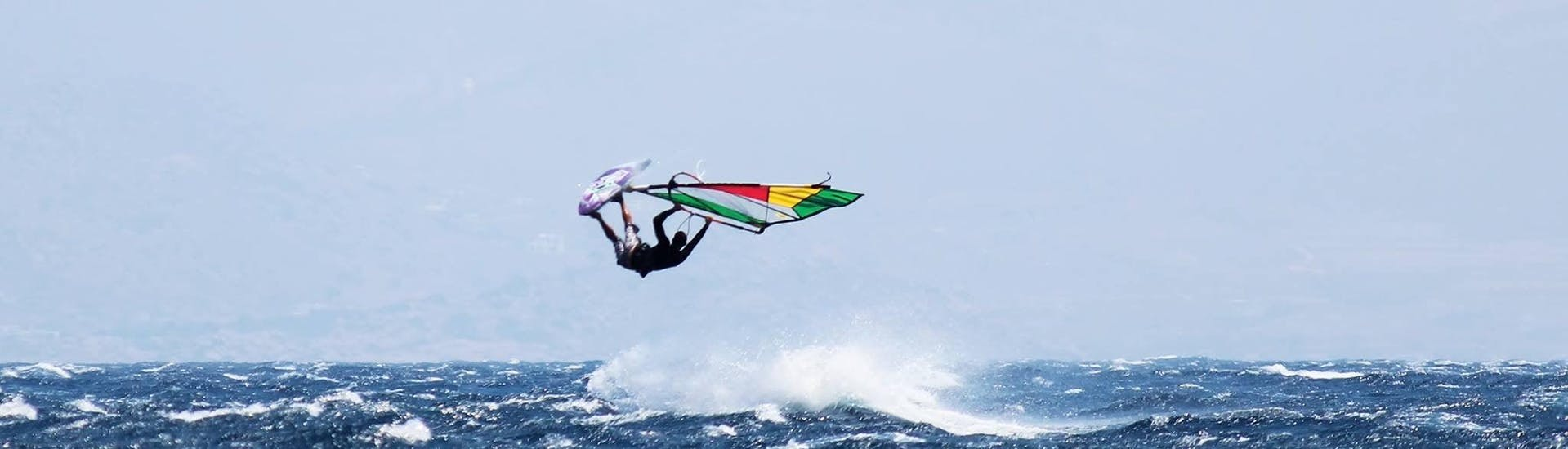 Private Windsurfing Lesson for Kids & Adults - All Levels with Paros Windsurf Center - Hero image