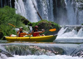 Classic Canoeing on the Zrmanja & Krupa Rivers  with Raftrek Adventure Travel Croatia