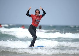 Full-Day Surfing Lessons for Adults - All Levels with Calima Surf Lanzarote