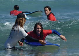 Private Surfing Lessons for Kids and Adults - All Levels with Calima Surf Lanzarote