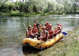 Rafting on the Zrmanja River  with Zrmanja River Tours