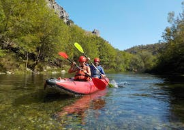 Canoeing on the Zrmanja River  with Zrmanja River Tours