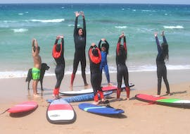 Private Surfing Lessons for Kids & Adults - Beginners with Surfer Tarifa